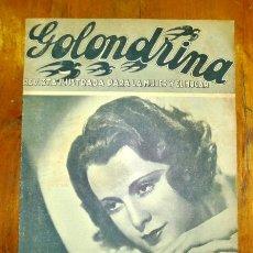 Coleccionismo de Revistas y Periódicos: GOLONDRINA : REVISTA ILUSTRADA PARA LA MUJER Y EL HOGAR. AÑO I, NÚM. 9, 1936 - FRANCIS DEE. Lote 176326870