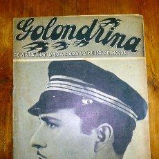 Coleccionismo de Revistas y Periódicos: GOLONDRINA : REVISTA ILUSTRADA PARA LA MUJER Y EL HOGAR. AÑO I, NÚM. 10, 1936 - RAFAEL RIVELLES. Lote 176326923