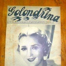 Coleccionismo de Revistas y Periódicos: GOLONDRINA : REVISTA ILUSTRADA PARA LA MUJER Y EL HOGAR. AÑO I, NÚM. 26, 1936 - MARY PICKFORD. Lote 176327102