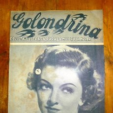 Coleccionismo de Revistas y Periódicos: GOLONDRINA : REVISTA ILUSTRADA PARA LA MUJER Y EL HOGAR. AÑO I, NÚM. 48, 1936 - MYRNA LOY. Lote 176327572