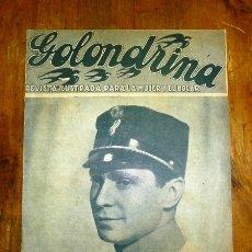 Coleccionismo de Revistas y Periódicos: GOLONDRINA : REVISTA ILUSTRADA PARA LA MUJER Y EL HOGAR. AÑO I, NÚM. 64, 1936 - FRANCHOT TONE. Lote 176327809