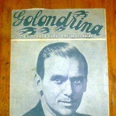 Coleccionismo de Revistas y Periódicos: GOLONDRINA : REVISTA ILUSTRADA PARA LA MUJER Y EL HOGAR. AÑO II, NÚM. 102, 1937 - DOUGLAS FAIRBANKS . Lote 176327978