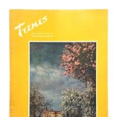 Coleccionismo de Revistas y Periódicos: REVISTA TRENES RENFE Nº 56 1954 / CASTILLOS DE ESPAÑA / FERROCARRILES. Lote 176333323