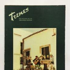 Coleccionismo de Revistas y Periódicos: REVISTA TRENES RENFE Nº 58 1955 / EXTRAORDINARIO / FERROCARRILES. Lote 176334728