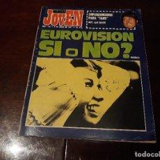 Coleccionismo de Revistas y Periódicos: REVISTA MUNDO JOVEN Nº 119 - EUROVISION SI O NO ? ENCUESTA - POSTER GIGANTE DE JUAN MANUEL SERRAT. Lote 176346715