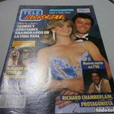 Coleccionismo de Revistas y Periódicos: REVISTA TELEINDISCRETA TELE INDISCRETA Nº 104 CON POSTER . Lote 176359368