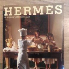 Coleccionismo de Revistas y Periódicos: REVISTA LE MONDE D'HERMÈS 1994 VOL.II HERMES PARIS. 132PAG. EXCEPCIONAL EJEMPLAR. Lote 176380358