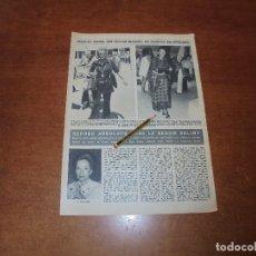 Coleccionismo de Revistas y Periódicos: RETAL 1971: MARINA DORIA SIN VICTOR MANUEL DE SABOYA EN CERDEÑA. BEGUM SALIMA. . Lote 176430493