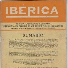 Coleccionismo de Revistas y Periódicos: REVISTA IBÉRICA Nº 269, AÑO 1953. Lote 176444644