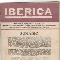 Coleccionismo de Revistas y Periódicos: REVISTA IBÉRICA, Nº 233, AÑO 1952. Lote 176444692