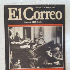 Coleccionismo de Revistas y Periódicos: REVISTA SUPLEMENTO EL CORREO CATALÁN EL GOLPE DOMINGO 1 DE MARZO DE 1981. Lote 176471250