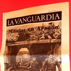 Coleccionismo de Revistas y Periódicos: GUERRA CIVIL - 50 NOTAS GRÁFICAS - LA VANGUARDIA - 1936/37/38 . Lote 176492069