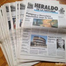 Coleccionismo de Revistas y Periódicos: HERALDO DE LA HISTORIA. PUBLICACION HERALDO DE ARAGON.AÑO 2000. 16 NUMEROS. Lote 176544879