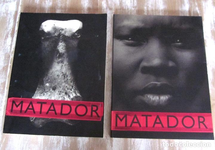 LOTE DOS REVISTAS MATADOR 1996 VOLUMEN B Y 1997 VOLUMEN C CULTURA, IDEAS Y TENDENCIAS (Coleccionismo - Revistas y Periódicos Modernos (a partir de 1.940) - Otros)