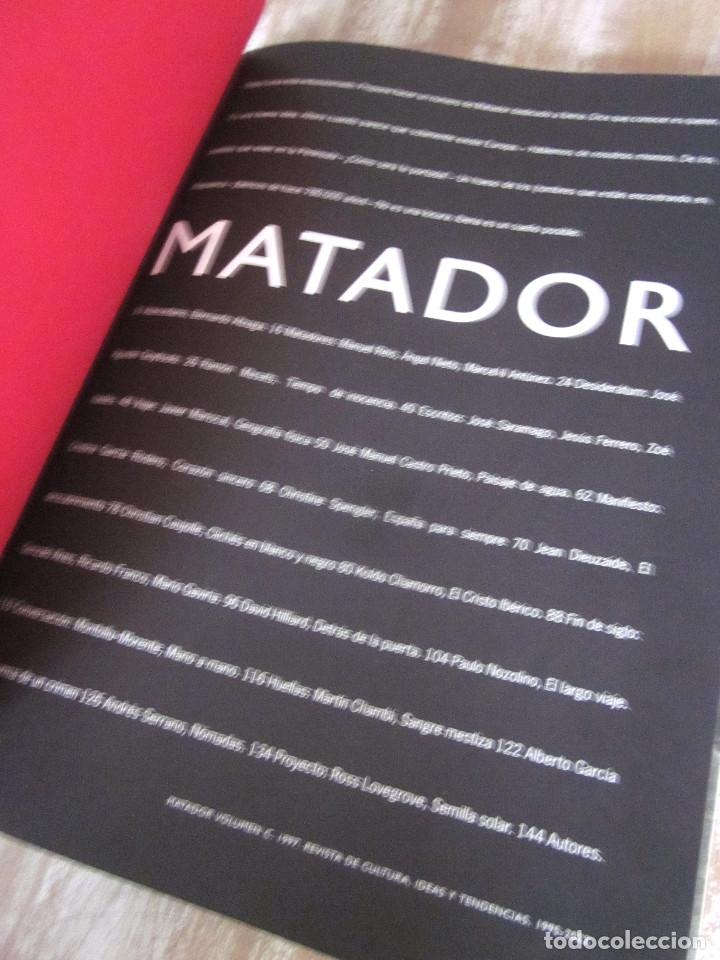Coleccionismo de Revistas y Periódicos: Lote dos Revistas Matador 1996 Volumen B y 1997 Volumen C Cultura, ideas y tendencias - Foto 13 - 176567710