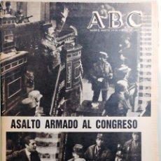 Coleccionismo de Revistas y Periódicos: ABC, NUM. 23.355. MADRID, MARTES 24 DE FEBRERO DE 1981. ASALTO ARMADO AL CONGRESO. ANTONIO TEJERO. Lote 176609692