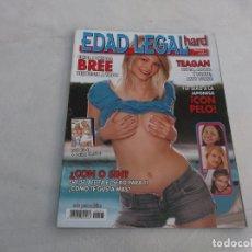 Coleccionismo de Revistas y Periódicos: EDAD LEGAL HARD Nº 7,REVISTA EROTICA ESPAÑOLA ,SOLO PARA ADULTOS. Lote 211780366