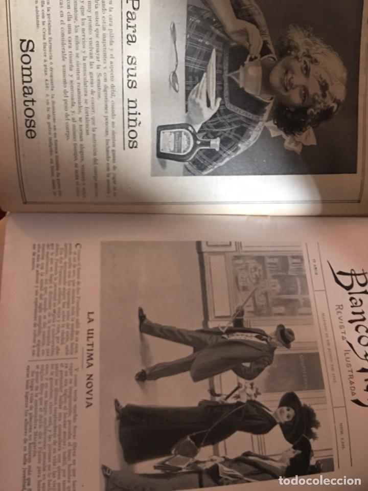 Coleccionismo de Revistas y Periódicos: BLANCO Y NEGRO - REVISTA ILUSTRADA - NUMERO 1101 - JUNIO 1912 - Foto 2 - 176665843