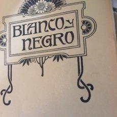 Coleccionismo de Revistas y Periódicos: BLANCO Y NEGRO - REVISTA ILUSTRADA - NUMERO 1101 - JUNIO 1912. Lote 176665843