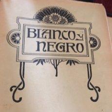 Coleccionismo de Revistas y Periódicos: BLANCO Y NEGRO - REVISTA ILUSTRADA - NUMERO 1102 - JUNIO 1912. Lote 176666174