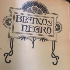 Coleccionismo de Revistas y Periódicos: BLANCO Y NEGRO - REVISTA ILUSTRADA - NUMERO 1103 - JUNIO 1912. Lote 176666394