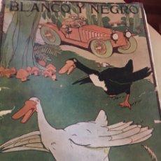 Coleccionismo de Revistas y Periódicos: BLANCO Y NEGRO - REVISTA ILUSTRADA - NUMERO 1355 - JUNIO 1917. Lote 176666903