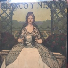 Coleccionismo de Revistas y Periódicos: BLANCO Y NEGRO - REVISTA ILUSTRADA - NUMERO 1354 - JUNIO 1917. Lote 176667044