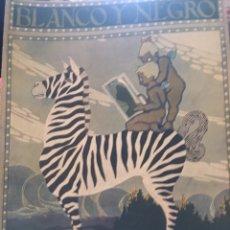Coleccionismo de Revistas y Periódicos: BLANCO Y NEGRO - REVISTA ILUSTRADA - NUMERO 1353 - ABRIL 1917. Lote 176667394