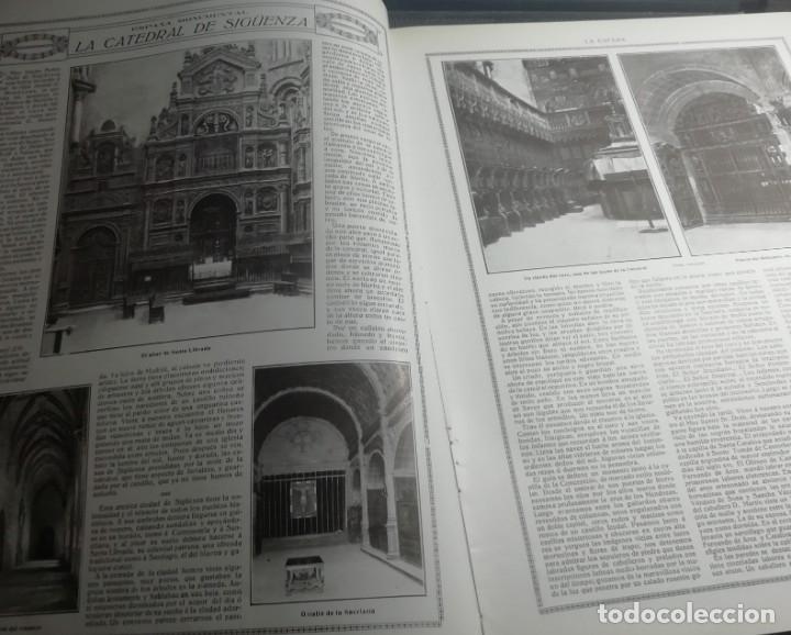 Coleccionismo de Revistas y Periódicos: LA ESFERA 1916 nº 144 CATEDRAL DE SIGUENZA - MUJERES DE JORGE SAND -ALBAICIN(GRANADA) - Foto 2 - 176667953