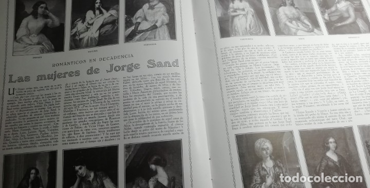 Coleccionismo de Revistas y Periódicos: LA ESFERA 1916 nº 144 CATEDRAL DE SIGUENZA - MUJERES DE JORGE SAND -ALBAICIN(GRANADA) - Foto 3 - 176667953