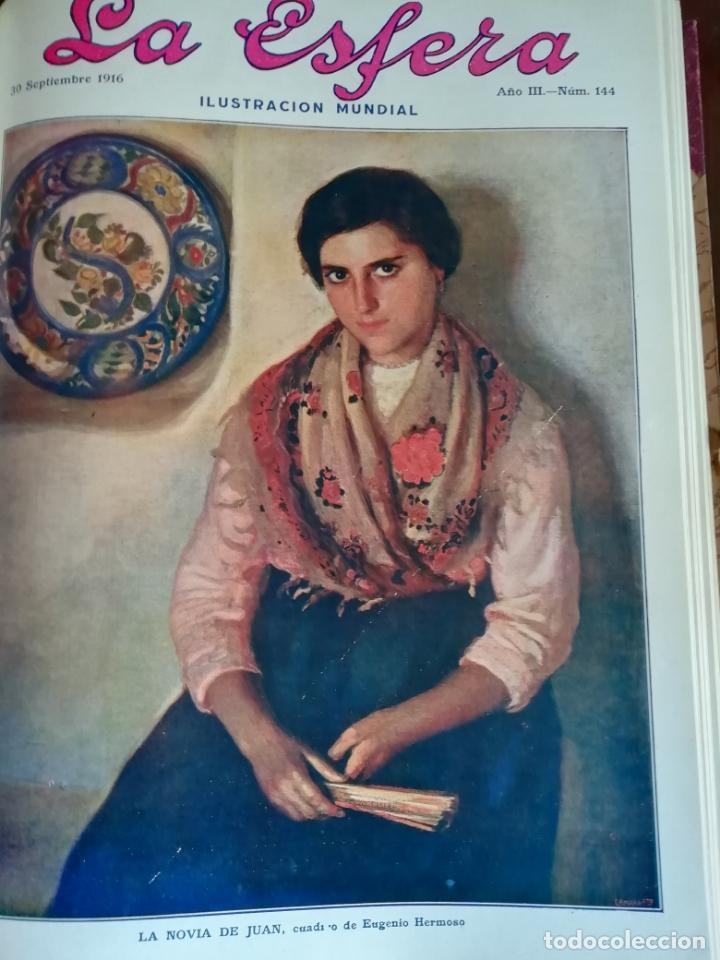 LA ESFERA 1916 Nº 144 CATEDRAL DE SIGUENZA - MUJERES DE JORGE SAND -ALBAICIN(GRANADA) (Coleccionismo - Revistas y Periódicos Antiguos (hasta 1.939))