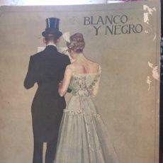 Coleccionismo de Revistas y Periódicos: BLANCO Y NEGRO - REVISTA ILUSTRADA - NUMERO 1349 - ABRIL 1917. Lote 176668537