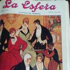 Coleccionismo de Revistas y Periódicos: LA ESFERA 1916 Nº 145 CARTUJA JEREZANA(JEREZ DE LA FRONTERA-PALACIO ELETA-REMEROS VASCOS. Lote 176670625