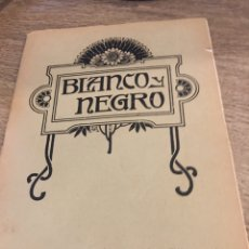 Coleccionismo de Revistas y Periódicos: BLANCO Y NEGRO - REVISTA ILUSTRADA - AÑO 1912 - NUMERO 1079. Lote 176675092