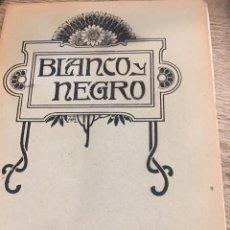 Coleccionismo de Revistas y Periódicos: BLANCO Y NEGRO - REVISTA ILUSTRADA - AÑO 1912 - NUMERO 1082. Lote 176676017