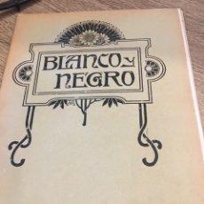 Coleccionismo de Revistas y Periódicos: BLANCO Y NEGRO - REVISTA ILUSTRADA - AÑO 1912 - NUMERO 1085. Lote 176676713