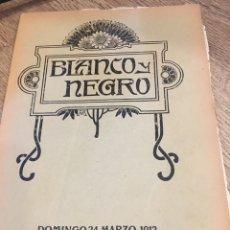Coleccionismo de Revistas y Periódicos: BLANCO Y NEGRO - REVISTA ILUSTRADA - AÑO 1912 - NUMERO 1089. Lote 176677513
