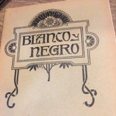 Coleccionismo de Revistas y Periódicos: BLANCO Y NEGRO - REVISTA ILUSTRADA - AÑO 1912 - NUMERO 1090. Lote 176677753