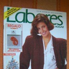 Coleccionismo de Revistas y Periódicos: LABORES DEL HOGAR Nº 383. NOVIEMBRE 1989.. Lote 176690144