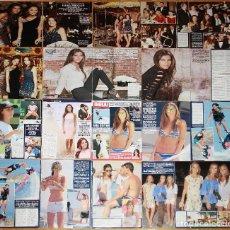 Coleccionismo de Revistas y Periódicos: ANA BOYER COLECCION PRENSA FOTOS SEXY BIKINI CLIPPINGS ISABEL PREYSLER VERDASCO. Lote 111010247