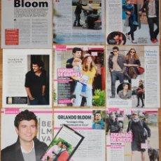 Coleccionismo de Revistas y Periódicos: ORLANDO BLOOM SPAIN CLIPPINGS PHOTOS MAGAZINE ARTICLES CINEMA ACTOR MIRANDA KERR. Lote 176696684