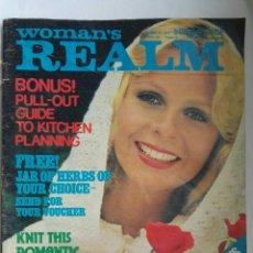 Coleccionismo de Revistas y Periódicos: REVISTA MODA WOMAN'S REALM 1974. Lote 176704950