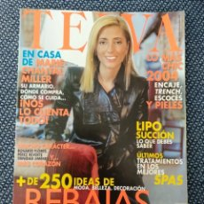 Coleccionismo de Revistas y Periódicos: REVISTA TELVA N 777 ENERO 2004 - MARIE CHANTAL MILLER EN PORTADA.. Lote 176867014