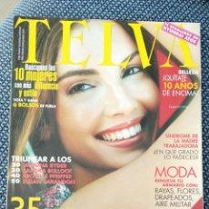 Coleccionismo de Revistas y Periódicos: REVISTA TELVA N 744 ABRIL 2001 EUGENIA SILVA EN PORTADA. Lote 176867183