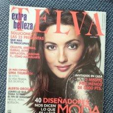 Coleccionismo de Revistas y Periódicos: REVISTA TELVA N 742 - FEBRERO 2001 - JOSE TOLEDO + SUPLEMENTO NOVIAS. Lote 176867598