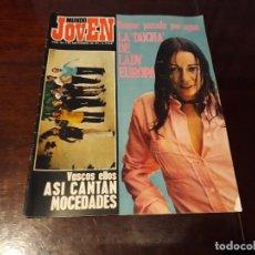 Coleccionismo de Revistas y Periódicos: REVISTA MUNDO JOVEN Nº 153 -EMMA COHEN - ALBERTO CORTEZ - MOCEDADES -POSTER DE EMMA COHEN. Lote 176955400