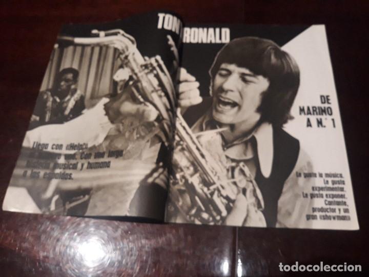 Coleccionismo de Revistas y Periódicos: REVISTA MUNDO JOVEN Nº 159 - TONY RONALD - VICTOR MANUEL Y ANA BELEN - POSTER DE LOVE STORY - Foto 2 - 176975867