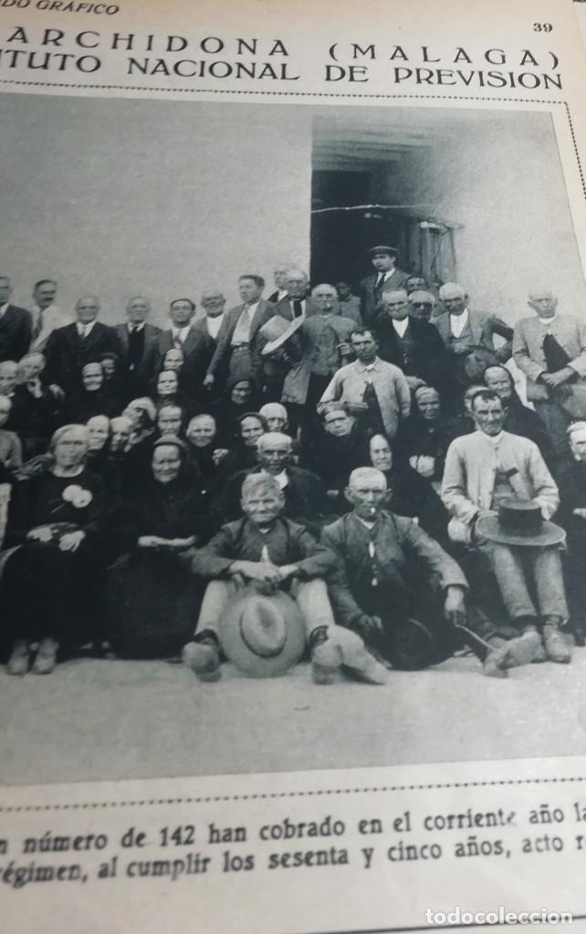 Coleccionismo de Revistas y Periódicos: mundo grafico Nº 1044 1931 ARCHIDONA (MALAGA)-LEQUEITIO- ORFEONES EN MANRESA - Foto 2 - 177009718