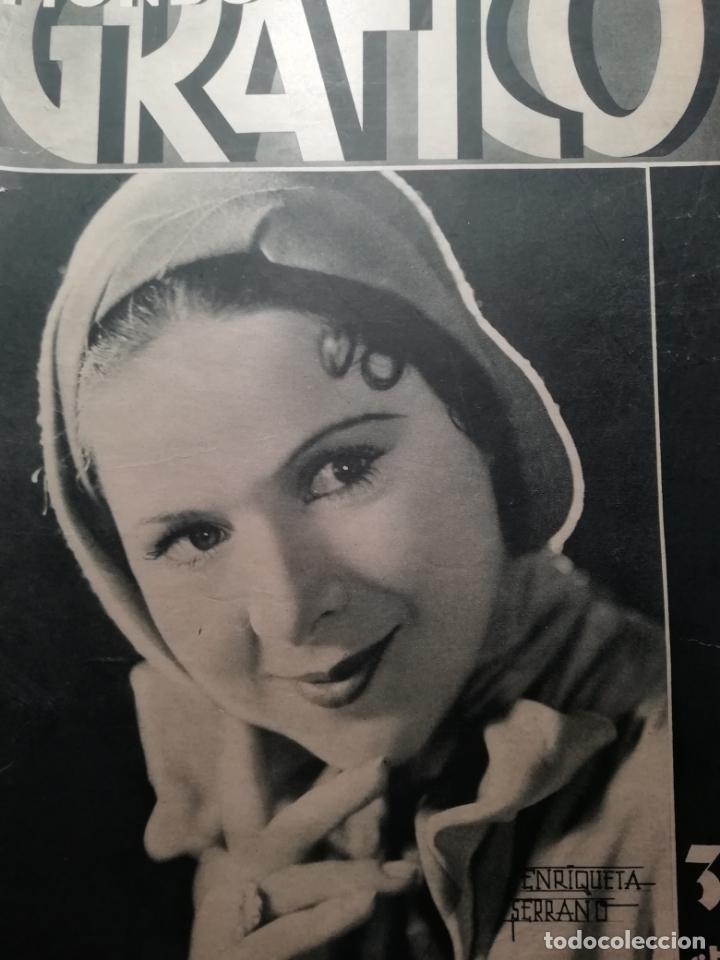 MUNDO GRAFICO Nº 1044 1931 ARCHIDONA (MALAGA)-LEQUEITIO- ORFEONES EN MANRESA (Coleccionismo - Revistas y Periódicos Antiguos (hasta 1.939))