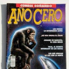 Coleccionismo de Revistas y Periódicos: LOTE 2 REVISTAS. AÑO CERO.. Lote 177011000